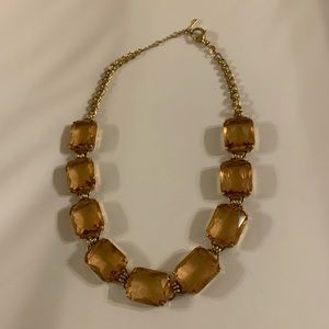 Fossil Peach Stone Necklace